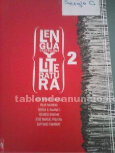 Libro de lengua y literatura 2º bachillerato