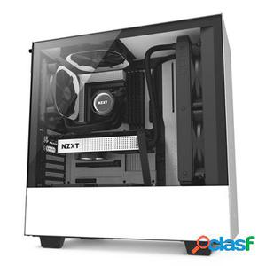 Nzxt Caja SemiTorre H500 Matte White/Black, original de la