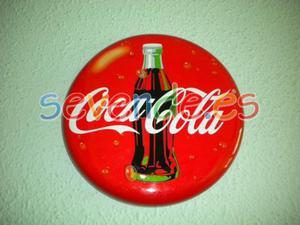 Placa metálica Coca Cola