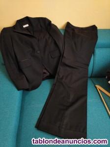 Traje chaqueta pantalon mujer massimo dutti