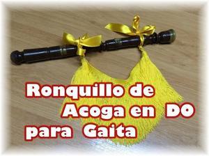 VENDO RONQUILLO DE ACOGA EN DO PARA GAITA
