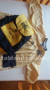 Bata y mochila del colegio regina carmeli