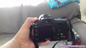 Cámara de fotos digital reflex pentax