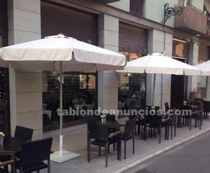 Bar-restaurante con terraza junto al mercado central