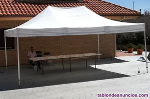 Carpa plegable 6x4