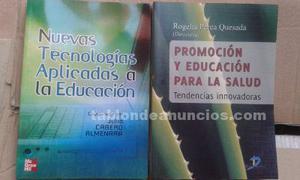 Libros de licenciatura en pedagogia