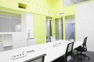 Oficina privada dentro de coworking con capacidad de hasta