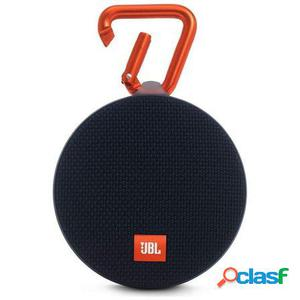 Altavoz bluetooth jbl clip 2 black - 3w - bt4.2 - ipx7