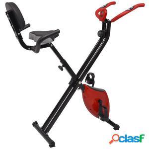 Bicicleta estática plegable magnética con respaldo 2,5 kg