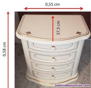 Dormitorio lacado alto brillo blanco
