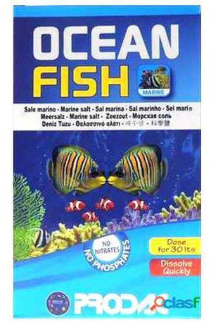 Prodac Ocean Fish 120 Lt 4 Kg Fish Salt 4 Kg