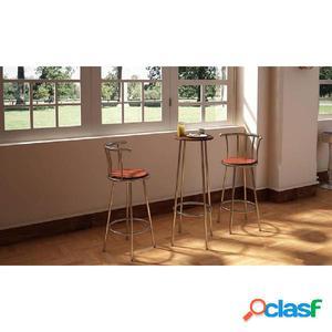 Set de marcos de acero de Mesa y Silla de Bar / Discoteca /
