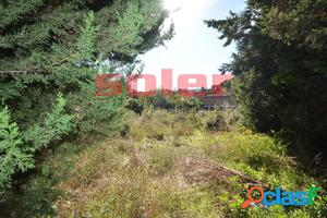 Valldoreix – Preciosa parcela esquinera en zona