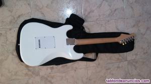 Guitarra electrica estilo stratocaster nueva y garantia
