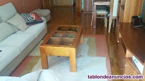 Mesa de centro salon cerezo