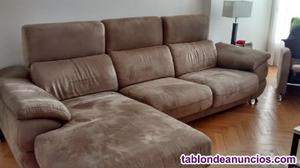 Sofa 2 plazas +cahise longue