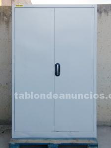 Armario chapa acero 120x40x195cm