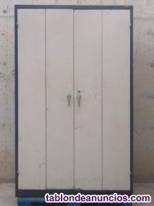 Armario de chapa para taller 125cm