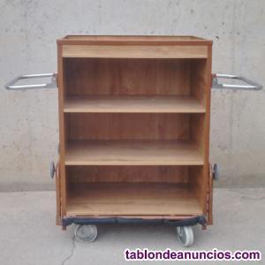 Carro de madera 88x48x115cm