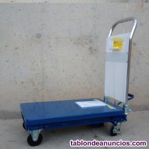 Carro plataforma elevadora