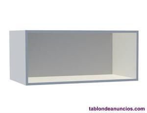 Nuevo: se vende estantería spaceo prekit color blanco
