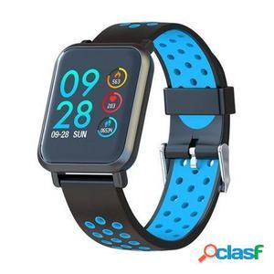 Reloj inteligente leotec multisport helse azul - pantalla