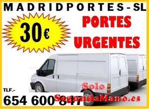 TARIFAS EN PORTES MADRID CAPITAL DESDE ))