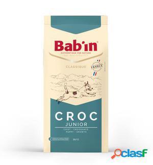 Bab'in Pienso para Perros Croc Junior 15 Kg