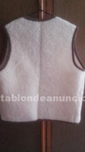 Chaleco de pura lana virgen