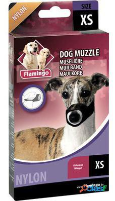 Flamingo Bozal de nailon XS para perro chihuahua y whippet