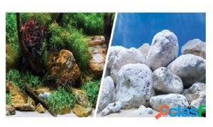 Marina Clear View 3D Jardin Acuatico/Piedras