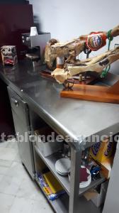 Mesa de hostelería de acero inoxidable