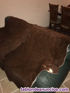 Vendo alfombras de piel de vaca