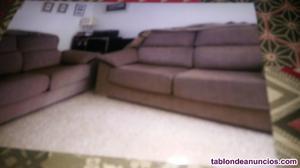 Vendo dos sofás de 2 y 3 plazas