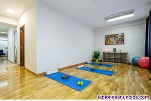 Alquiler de cabinas de estetica y sala de pilates