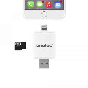 JustBuy.es.Lector unotec idrive 8 pin para iphone y ipad