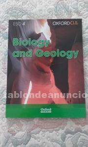 Vendo biology and geology 4º eso,new edit. Editorial oxford