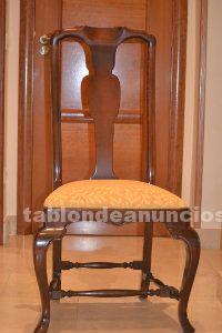 4 sillas de estilo