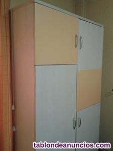 Armario habitacion 110x200x50 cms.