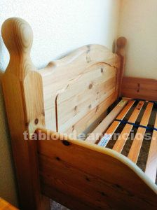 Camas madera maciza 90x200