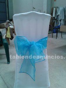Fundas de silla para eventos, manteles, servilletas