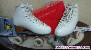 Patines patinaje artístico ruedas