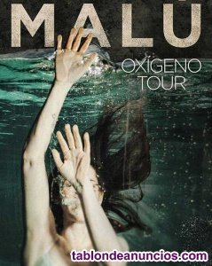 Entradas malú oxígeno tour wizink center madrid