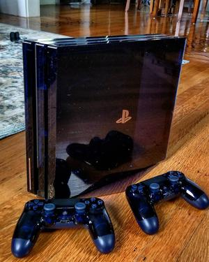 sony ps4 pro 2tb 500 million limited edition console