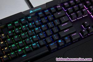 Corsair k70 lux rgb cherry mx brown teclado pc