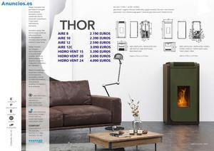 Estufas De Pellets Thor