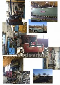 Maquinaría de taller metálico