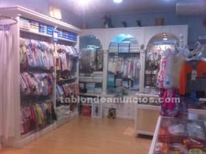 Traspaso tienda ropa infantil con o sin mercancia