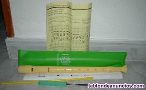 Vendo flauta de la marca hohner con todo el material