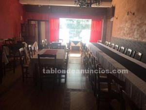 Venta o alquiler bar restaurante 190m² con terraza en san